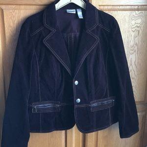 Chico's Corduroy Jacket